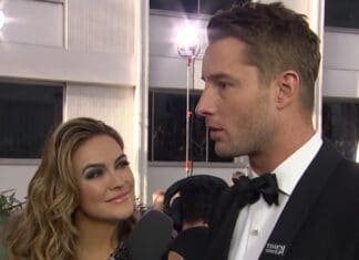 Justin Hartley e Chrishell Stause